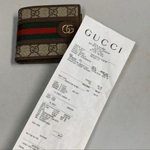Mens Gucci bi-fold wallet (new)